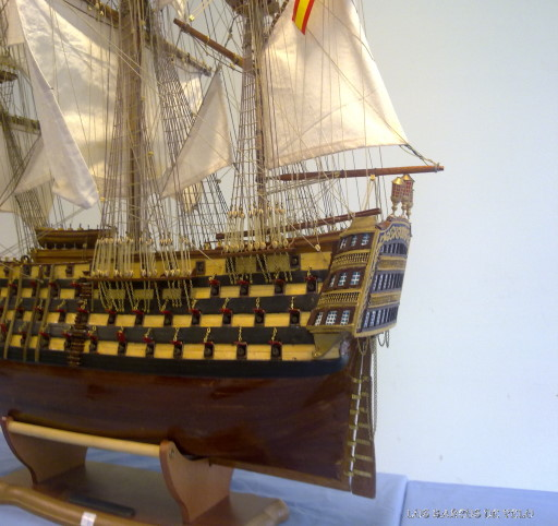 santisima trinidad barco español
